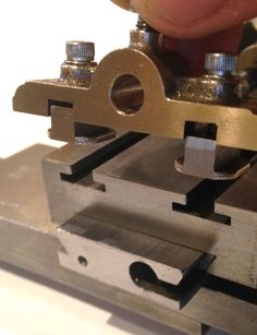 MOWRER WW LATHE TOOLS: Watchmakers lathe Cross Slide lever actuator