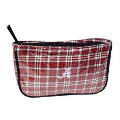 The Honour Society - Alabama Crimson Tide Tartan Makeup Bag, $24.99 (http://www.thehonoursociety.com/products/alabama-crimson-tide-tartan-makeup-bag.html)