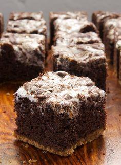 Bake or Break | S'mores Swirl Brownies