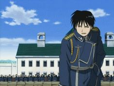 Roy Mustang (The Flame Alchemist) totally blasts Edward Elric (The #FullmetalAlchemist). See more of these gifs on my website hxchector.com