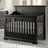 Oxford Baby Dallas 4-in1- Convertible Crib - Slate