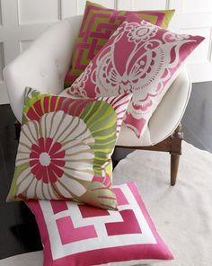 Pretty idea for recovering my Japanese pillows