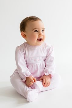 d8f685ad7 Hand smocking and embroidery makes Kissy Kissy Premier special #babygirl  #kidsclothes #layette Preemie