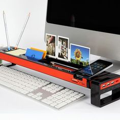 [최저가 무료배송] 책상정리 Stick (3Port USB허브포함)