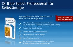 o2 Blue Select Professional für Selbständige