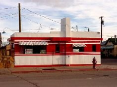 ARIZONA, Winslow - Irene's Valentine Diner - This old Valentine Diner, 320 East Second Street, has been called the HIGHWAY DINER, Monday's Cafe and Irene's in the past. The 9-stool diner probably opened about 1950.
