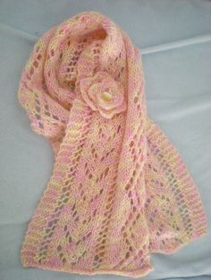 Free Pattern: Juliet Scarf by Louisa Harding
