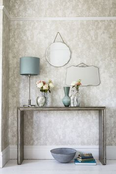 This elegant neutral wallpaper pattern by Harlequin has a stunning texture.