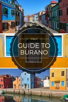 You'd be missing out on some of the best parts of visiting Venice if you don't take the vaporetto (water bus) over to Burano, the colorful island famous for its lace-making!