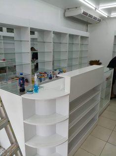 Apotek Shoe Store Design, Retail Store Design, Clinic Interior Design, Home Office Design, Mobile Shop Design, Pharmacy Store, Supermarket Design, Counter Design, Boutique Interior