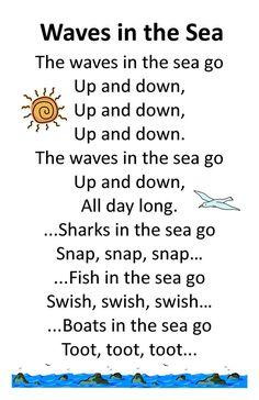 ocean rhymes toddler - Google Search