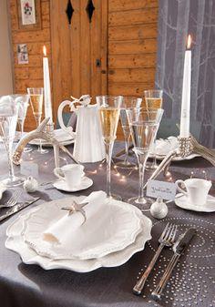 Déco de Noël: dressez une jolie table de fête! astucedeco / Loisirs