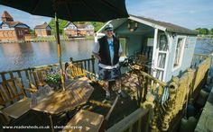 Maid Of Dekkin, Normal Shed from Floating on the River Thames #shedoftheyear Readersheds.co.uk