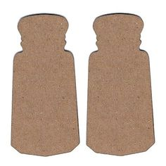 Leaky Shed Studio - Chipboard Shapes - Salt and Pepper Shakers at Scrapbook.com