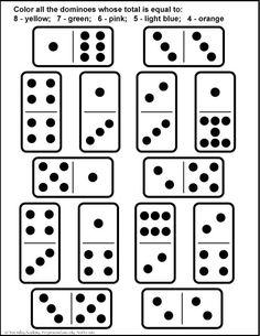 FREEBIE! Domino Cards for Number Matching and Games (With
