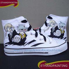 Soul Eater Converse Shoes