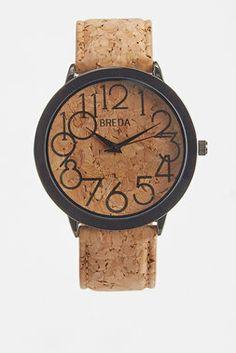 Exclusive: Cork Watch - Breda - Watches : Thrillist