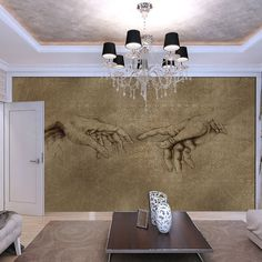 Photo Wallpaper VINTAGE HANDS Wall Mural (2559VE)