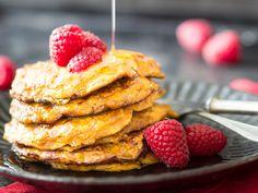 Low Carb Pancakes mit Süßkartoffel