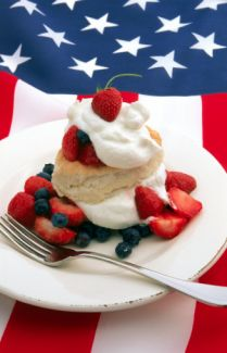 july 4th vegetarian menu