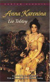Anna Karenina--sitting on the bookshelf