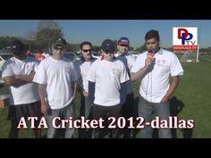Volunteers / Organizers speaking to Desiplaza tv at ATA Cricket Tournament Dallas - 2012