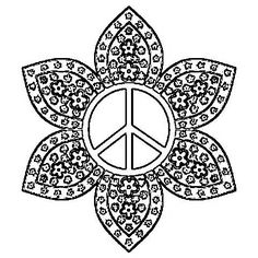 peace sign coloring pages cooloringcom