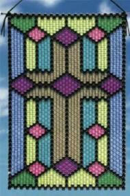 Jet Cross Beaded Banner Kit The Beadery Craft Products 5991