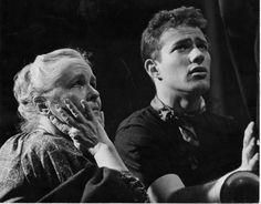 Charles Siebert and Ginny Mueller, Marquette University Players, circa 1958.