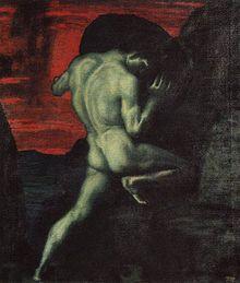 Sisyphus, 1920 - Franz Von Stuck