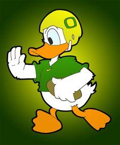 The Oregon Duck!