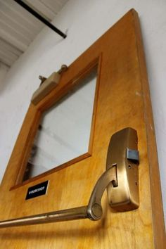 Brick And Mortar, Case Study, Door Handles, Doors, Mirror, Detail, Interior, House, Vintage