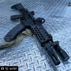 Tactical Ak, Tactical Truck, Military Weapons, Weapons Guns, Krebs Custom, Heckler & Koch, Gun Rooms, 9mm Pistol, Custom Guns