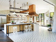 """Home Interior Design — Kitchen in """"The Hermitage"""", New South Wales /. Kitchen Inspirations, Top Kitchen Designs, Kitchen Dining, Beautiful Kitchens, Home Kitchens, Home, Interior, Kitchen Design, Kitchen Dining Room"""