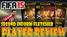 FIFA 15   INFORM Steven Fletcher (80) PLAYER REVIEW w/Gameplay & In-Game...