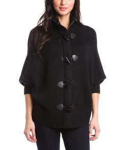 Spotted this Love Token Black Toggle Cape Cardigan on Rue La La. Shop (quickly!).