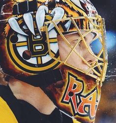Tuukka ready for anything from that puck!