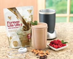 Two servings a day of Forever Lite Ultra®, prepared with skim milk as directed, supply a full 100% of the Reference Daily Intake (RDI) for the vitamins and minerals shown in the Nutrition Facts section. Forever Lite Ultra® supplies the 18 important amino acids, including essential, non-essential and the branched-chain amino acids.