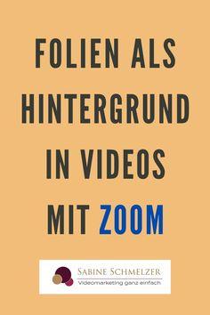 Kennst du schon die neue Funktion für Hintergründe aus PowerPoint-Folien in Zoom? Die neue Funktion gibt es noch nicht so lange und ist noch in der Beta-Version verfügbar. Mit dieser Anwendung hast du die Möglichkeit, von dir bereits erstellt PowerPoint-Folien in dein Video einzublenden. Somit kannst du zusätzlichen Text in deine Videos einbauen, was bisher nicht ging.