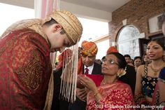 indian wedding groom baraat ceremony http://maharaniweddings.com/gallery/photo/12515