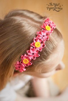 """Latest Totally Free Ribbon Flower headband Strategies I was able to simply have titled that write-up techniques to produce lace flowers"""" – you Diy Ribbon Flowers, Ribbon Art, Ribbon Crafts, Fabric Flowers, Ribbon Rose, Fabric Bows, Wired Ribbon, Lace Flowers, Flower Headband Tutorial"""