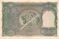 British India Bank Notes - Si No 219485