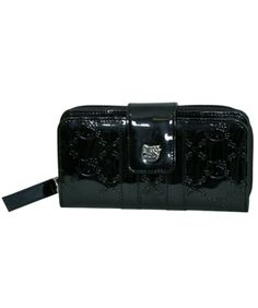 97ba2dcee98f Hello Kitty Black Patent Embossed Wallet from LoungeFly  40.00 Hello Kitty  Accessories