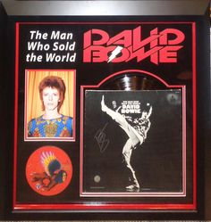 Antiquities LV - David Bowie Signed Man Who Sold The World Album, $1,995.00…