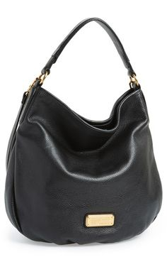 Free shipping and returns on MARC BY MARC JACOBS 'New Q Hillier' Hobo at Nordstrom.com. Everything you love about the Classic Q Hillier—the slouchy style, the workwear-inspired logo, the adjustable strap—is featured in this modern hobo that has a fresh, streamlined look. The roomy interior and go-with-anything attitude make this the perfect go-to bag for your collection.