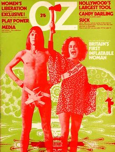 OZ Magazine covers - Melt