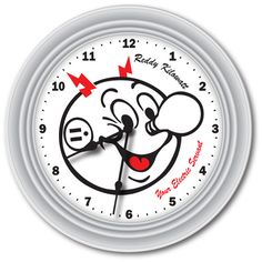 Reddy Kilowatt Wall Clock