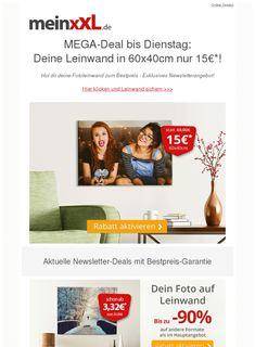 ✔ Große Fotoleinwand nur 3 Tage reduziert auf 15€!  ❙  #KunstHobby  - https://deal-held.de/%e2%9c%94-grosse-fotoleinwand-nur-3-tage-reduziert-auf-15e/