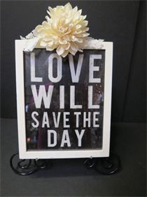 Love will Save The Day - Rental Price = $4