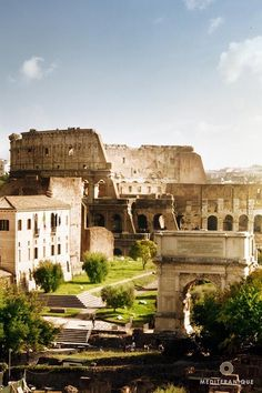 The Colosseum in Rome, Italy. For luxury hotels in Italy visit http://www.mediteranique.com/hotels-italy/
